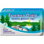 Масло сливочное ТЫСЯЧА ОЗЁР 82,5%, 450 г