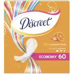 Прокладки ежедневные DISCREET Deo Summer Fresh, 60шт