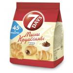 Мини-круассаны 7DAYS с кремом какао, 105г
