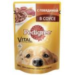 Корм для собак PEDIGREE с говядиной, 100 г