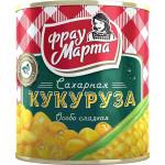 Кукуруза сахарная ФРАУ МАРТА особо сладкая, 310г