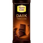 Шоколад темный ALPEN GOLD Dark, 85 г