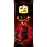 Шоколад темный ALPEN GOLD Bitter горький, 85 г