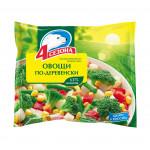 Овощная смесь 4 СЕЗОНА По-деревенски быстрозамороженная, 400г