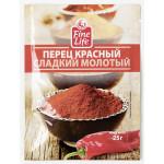 Перец красный сладкий молотый FINE LIFE, 25 г