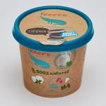 Мороженое пломбир ICECRO с шоколадным печеньем, 75г