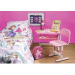 Набор мебели: стол и стул розовый 38,5*42*54,5 см