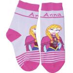 Носки для девочек DISNEY Frozen фиолетовые 18-20