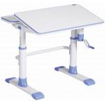 Детский стол голубой 80*67*58-78 см