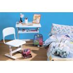 Набор мебели: стол и стул голубой 38,5*42*54,5 см