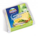Сыр плавленый HOCHLAND тостовый с огурцами и укропом, 150г