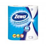 Кухонные полотенца ZEWA двухслойные в упаковке, 2шт