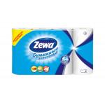 Кухонные полотенца ZEWA 2-слойные бумажные, 4шт