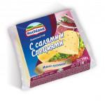 Сыр плавленый HOCHLAND тостовый с салями и специями, 150г