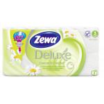 Туалетная бумага ZEWA Deluxe Ромашка трехслойная, 8 рулонов