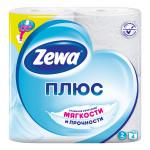 Туалетная бумага ZEWA 2 слоя, 4 рулона