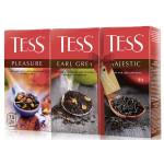 Чай TESS Промо-пак 3 вкуса