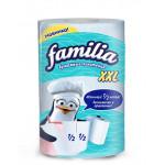 Бумажные полотенца FAMILIA 2 слоя, 1 рулон