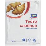 Тесто слоеное ARO дрожжевое, 500 г
