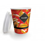 Стакан для кофе 300 мл RIOBA, 50 шт
