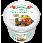 Майонез СДОБРИ Провансаль натуральный 67%, 820г