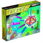Магнитный конструктор GEOMAG с блестками
