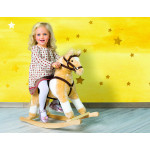 Лошадка-качалка со звуком