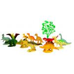 Игровой набор БАЗА ИГРУШЕК Динозавры, 13 предметов