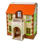 Игровой кукольный дом ОДНИМ ПРЕКРАСНЫМ УТРОМ без мебели, 42см