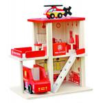 Игровой набор БАЗА ИГРУШЕК Пожарная Станция