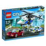 Конструктор LEGO City 60138 Стремительная погоня, 5-12 лет