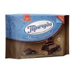 Вафли БОЛЬШЕВИК Причуда Мини-тортики тёмный шоколад, 70г