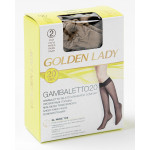 Гольфы GOLDEN LADY Gambaletto 2 пары, 20den