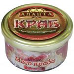 Мясо краба АЛАНТА салатное, 180г