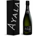 Шампанское AYALA белое брют, 0,75 л в подарочной упаковке