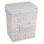 Корзина для белья NATURAL HOUSE плетеная XL, 47х35х55см