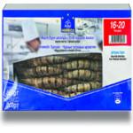Креветки тигровые HORECA SELECT 16/20 с головой свежемороженые, 800г