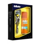 Набор подарочный GILLETTE Fusion Proshield станок+гель для бритья