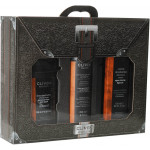 Подарочный набор CLIVEN в чемодане пена + гель + крем