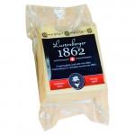 Сыр LUSTENBERGER 1862 орехово-сладкий кусковой нарезанный, 200г