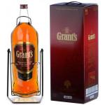 Виски GRANTS в подарочной упаковке, 4.5 л