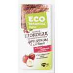 Шоколад тёмный ECO BOTANICA на изомальте с фундуком и стевией, 90 г