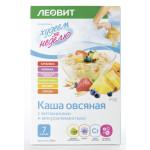 Каша овсяная ЛЕОВИТ ассорти, 280 г