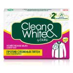 Мыло хозяйственное DURU Clean and White против пятен, 125 г