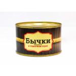Бычки обжаренные МОРЕ ВНУТРИ в томатном соусе, 240 г