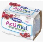 Функциональный напиток ACTIMEL гранат в упаковке, 8х100г
