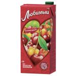 Нектар ЛЮБИМЫЙ с вишней и черешней, 1.93 л
