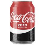 Газированный напиток COCA-COLA Zero, 0,33л
