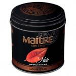 Чай MAITRE DE THE Луи Дор черный в железной банке, 150 г