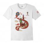 Футболка мужская 2018 FIFA World Cup™ Город, хлопок, размеры M-XXXL